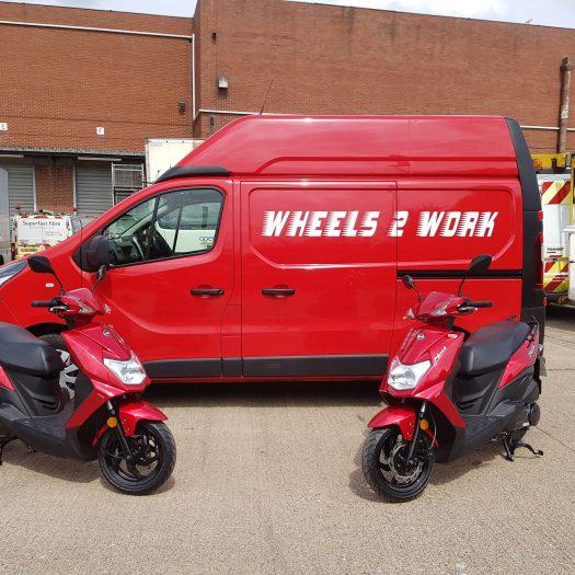 new w2w van